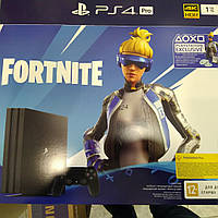 Игровая консоль Sony PlayStation 4 Pro 1TB Black (Fortnite) 9941507