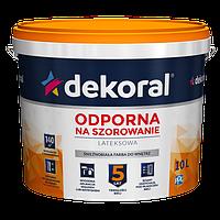 Фарба інтер`єрна для стін та стель Dekoral Akrylit W Plus 3л