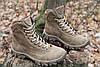Тактические ботинки из натуральной кожи и меха - бежевый ботинок енерджи, фото 6