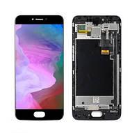 Дисплей для телефона Meizu Pro 6 (M570)   Pro 6s с сенсорным стеклом в рамке (Черный) TFT