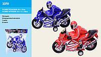 Мотоцикл инерц.3370 (36шт/2) 2 цвета, р-р игр. 38*13*28см, в пакете 40*33см