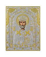 Икона Святого Николая Чудотворца 150 мм х 200 мм, фото 1