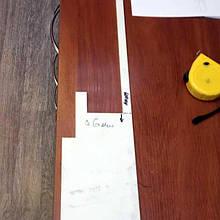 Накладка на направляющие  станка 6 мм из ZX-100K
