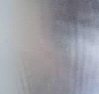 Стекло узорчатое рифленное Скрин бесцветный 4мм
