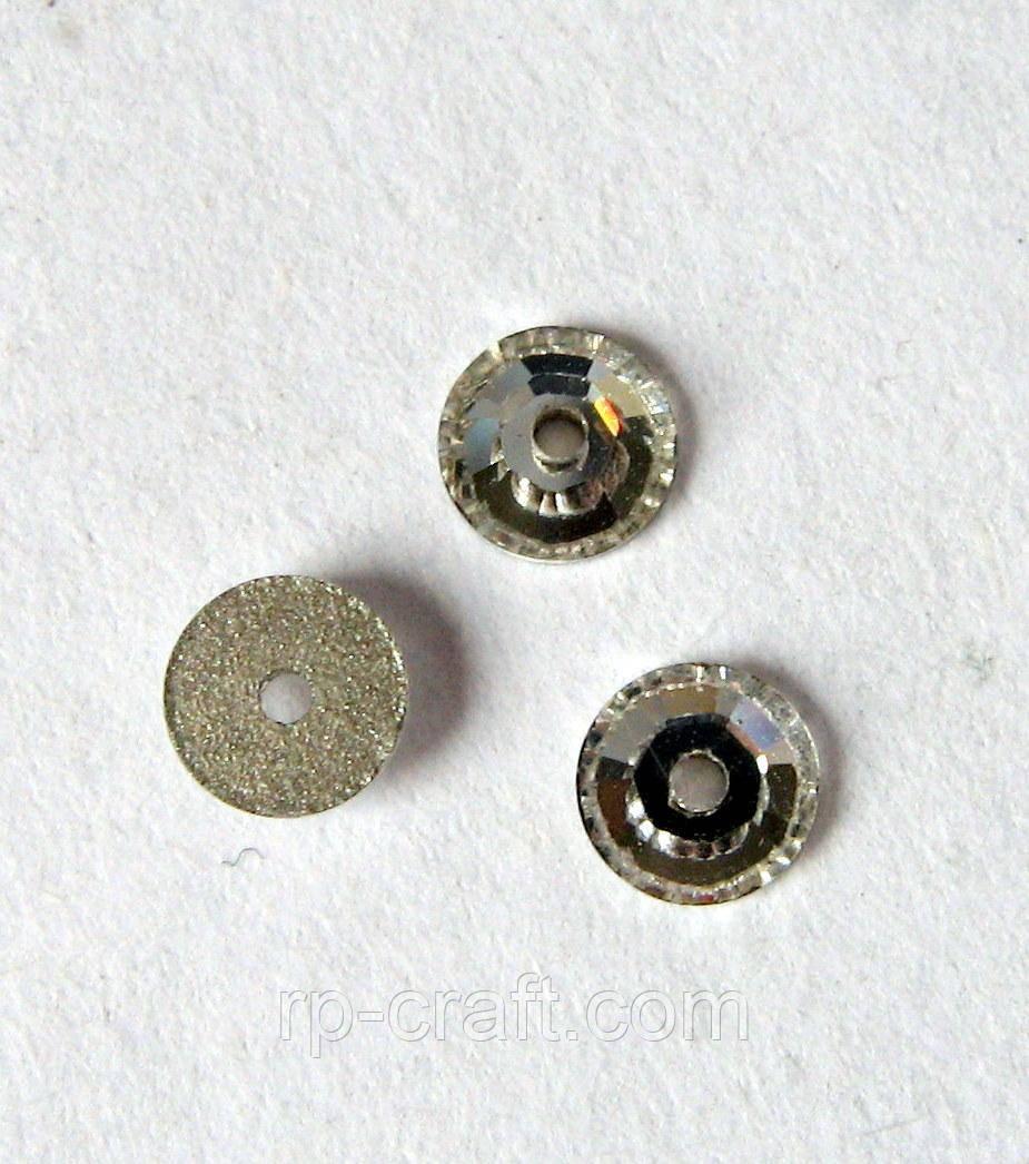 Стрази пришивні, Сваровські. Коло, 4х4 мм