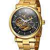 Механические часы с автоподзаводом Forsining (gold), фото 2