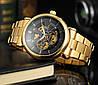 Механические часы с автоподзаводом Forsining (gold), фото 5