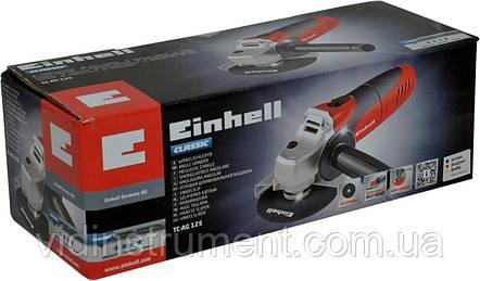 Болгарка Einhell TC-AG 125 EX, фото 2