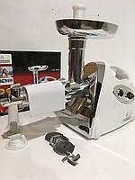 Мясорубка Сrowenberg 3000W электрическая с реверсом + соковыжималка