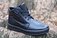 Мужские ботинки из натуральной кожи WALKER 46 BL