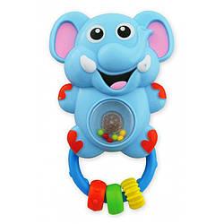 Погремушка Baby Mix KP-0697 Слон, голубой (8450)