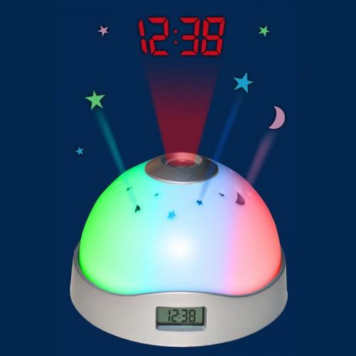 Настольные  часы ночник с проектором Star Master