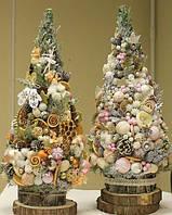Спилы дерева для новогоднего декора