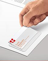 Карман для визитки, PVC, самоклеящийся, 100х60мм 0407-0005-00