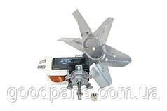 Двигатель вентилятора конвекции + крыльчатка для духовки Whirlpool 481236118492