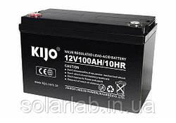 Аккумулятор Kijo JDG 12V 100Ah GEL