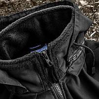 Толстовка флисовая с капюшоном (ANTITERROR) Black, фото 4