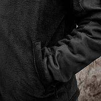 Толстовка флисовая с капюшоном (ANTITERROR) Black, фото 5