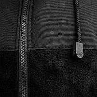 Толстовка флисовая с капюшоном (ANTITERROR) Black, фото 8