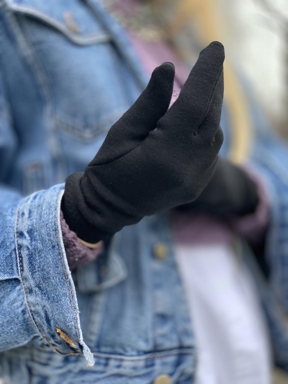 Рукавички на флісхутрі GFx5 чорний, фото 1