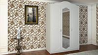 Шкаф DA-KAS Анна 3-х дверный фасад МДФ с зеркалом 140х60х212 см