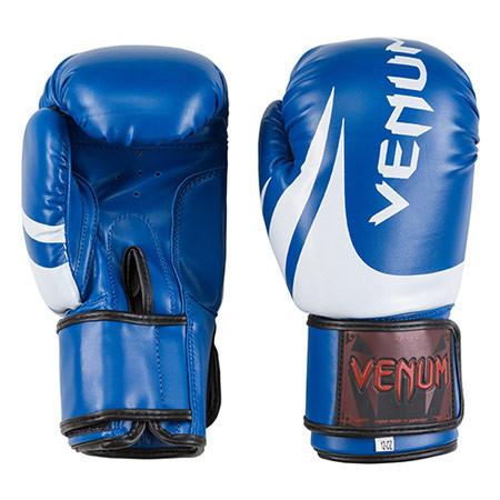 Детские боксерские перчатки VENUM VM2145 (реплика, синий) размер 8 унц.