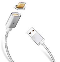 Магнитный кабель lightning для зарядки телефона iphone
