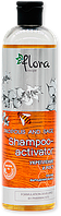 Шампунь-активатор для укрепления и роста. Против выпадения волос Flora PROPOLIS AND SAGE, 500 мл.