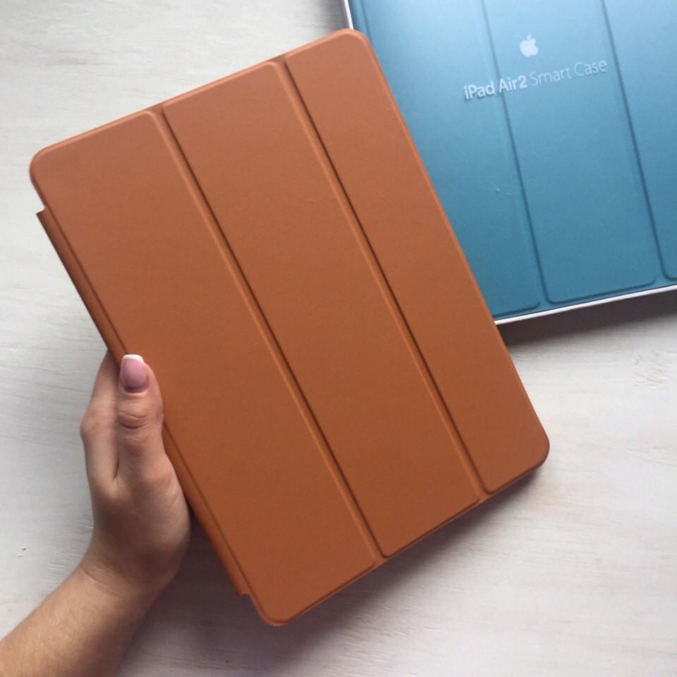 Кожаный коричневый чехол Smart Case для iPad Air 2