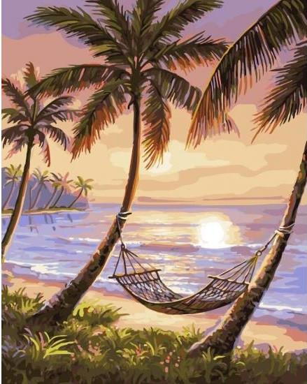 Картина по номерам BRUSHME Райский уголок
