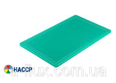 Доска разделочная зеленая 500х325х15 мм Stalgast 341532