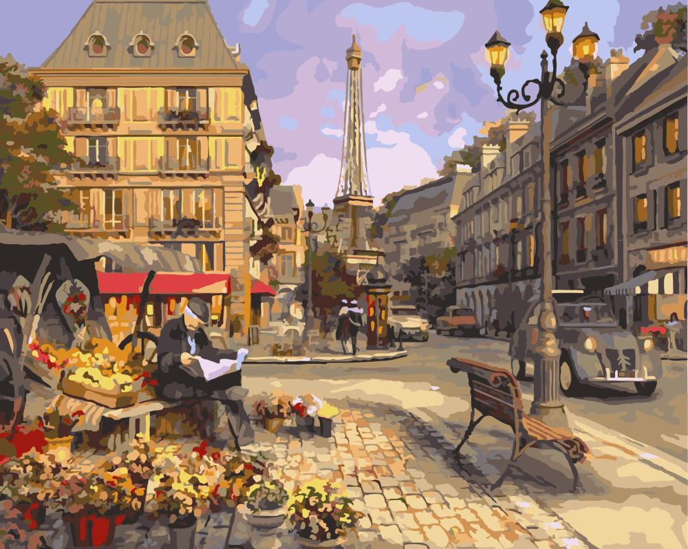 Картина по номерам BRUSHME Живописная улочка