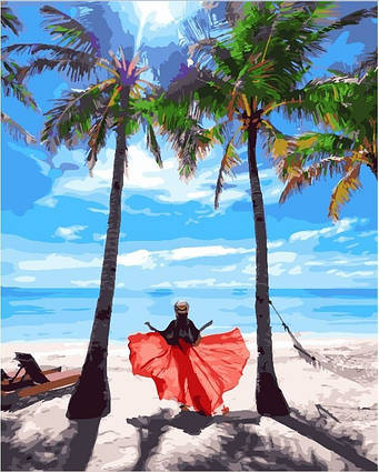 Картина по номерам BRUSHME Солнце Филиппин