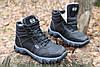 Тактические ботинки из натуральной кожи и меха - ботинок evo черный, фото 2
