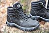 Тактические ботинки из натуральной кожи и меха - ботинок evo черный, фото 5