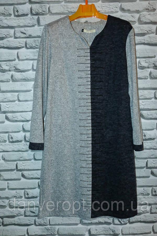 Платье женское стильное со стразами размер универсальный 50-60 купить оптом со склада 7км Одесса