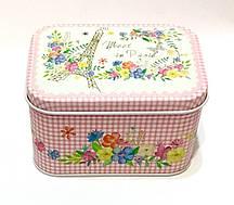 Металлическая подарочная коробочка