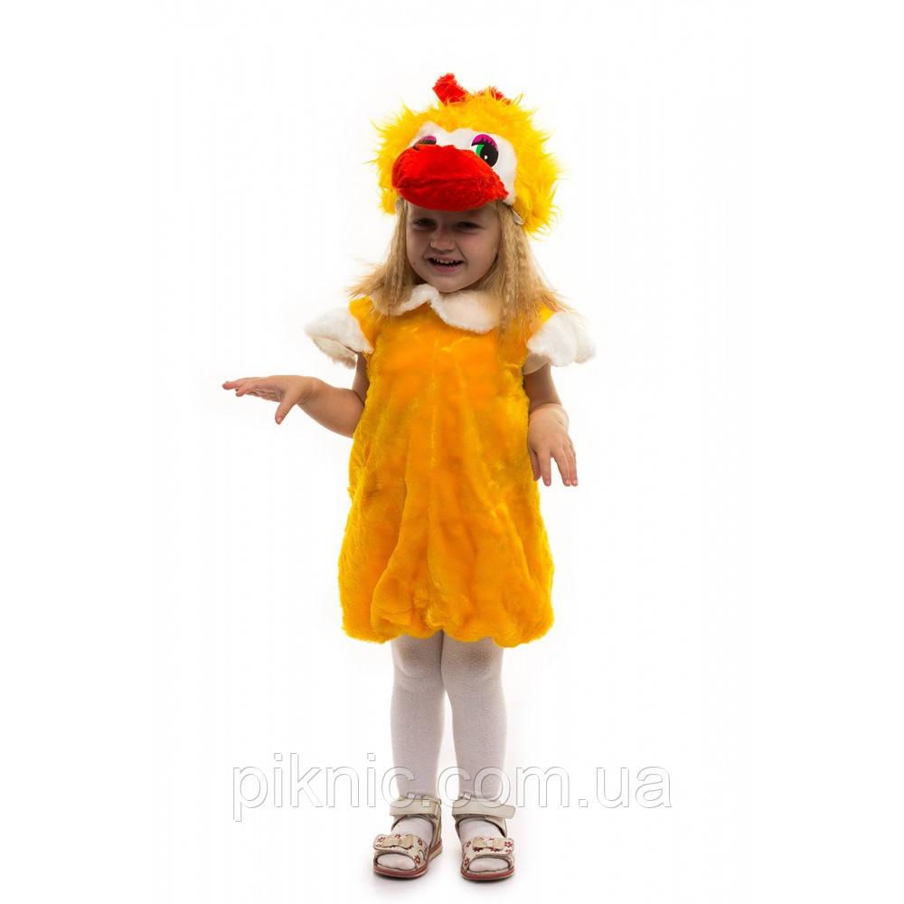 Костюм Уточка для детей 2,3,4 лет. Детский новогодний карнавальный костюм птицы 342
