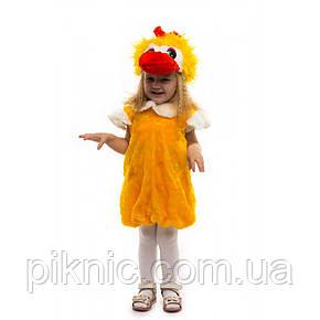 Костюм Уточка для детей 2,3,4 лет. Детский новогодний карнавальный костюм птицы 342, фото 2