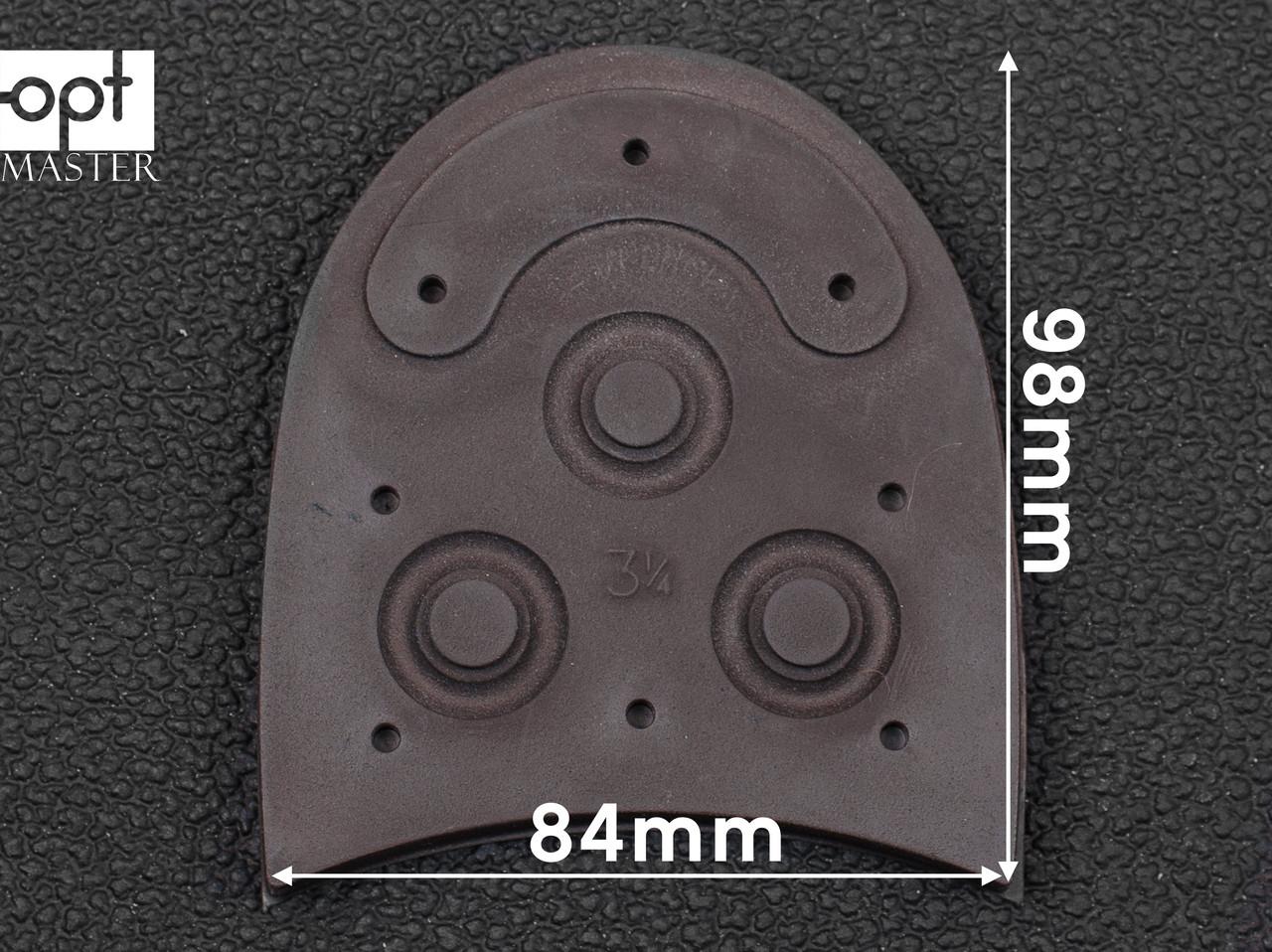 "Набойки DAINITE Studded, р. 3 3/8"" (84 мм), цв. темно-коричневый"