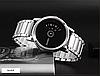 Часы с оригинальным дизайном Skmei 1260 Серебристые с черным циферблатом, фото 5