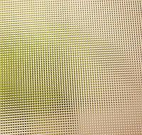 Стекло узорчатое рифленное Скрин бронзовый