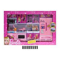 Кухня игрушечная для куклы Барби мебель Кухонний набір для ляльки Барбі X221F