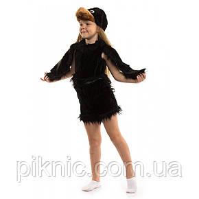 Костюм Ворона 3-6 лет Детский новогодний карнавальный костюм для детей 342, фото 2
