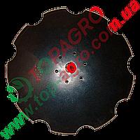 Диск ромашка Ø=560 мм, h=6 мм, d46, 6 отворів БДМ-Агро / Дніпромашінвест (Bellota), DI.BN HH 6 1905-22MR455