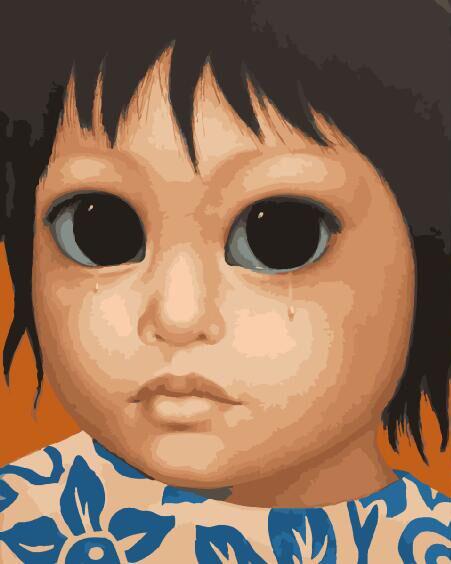 Картина по номерам BRUSHME Дитя. Маргарет Кин