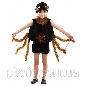 Костюм Паучка для мальчиков 3-6 лет. Детский новогодний карнавальный костюм Паук 342, фото 2
