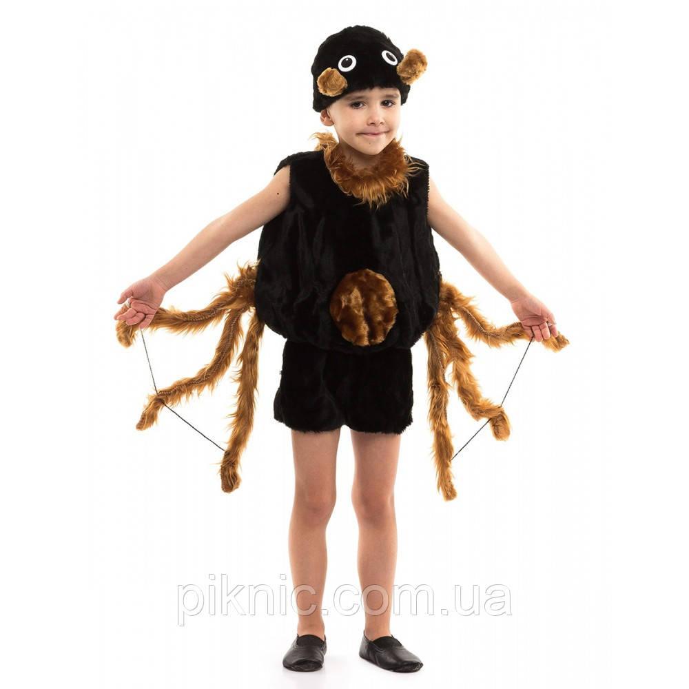 Костюм Паучка для мальчиков 3-6 лет. Детский новогодний карнавальный костюм Паук 342