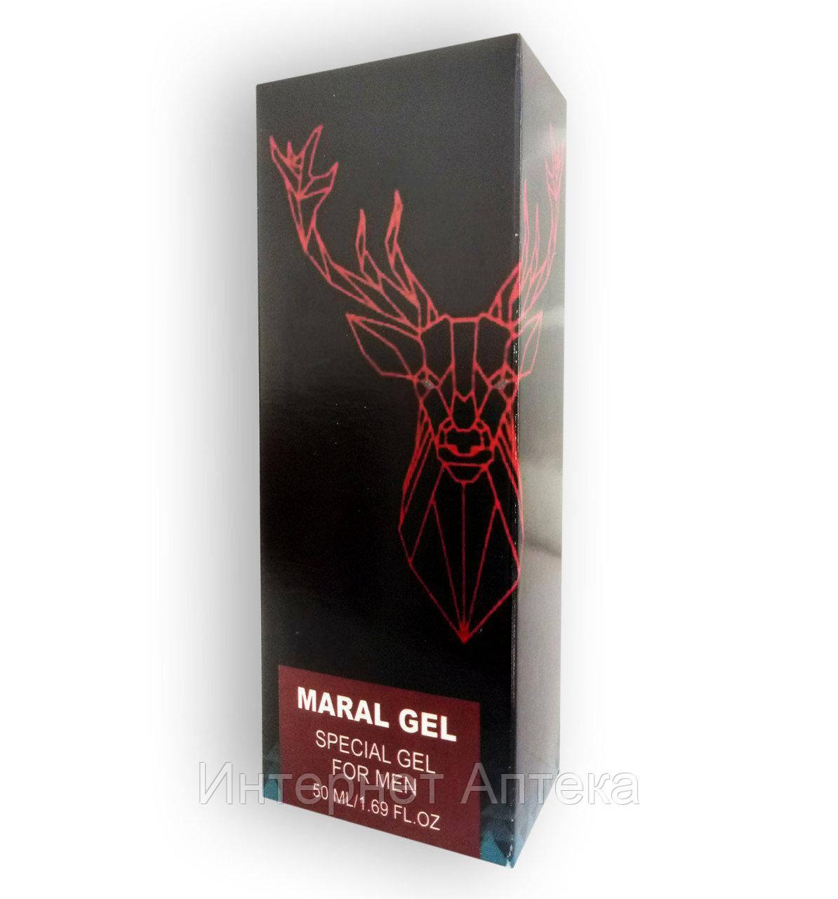Гель для мужской силы и увеличения члена Maral gel - Марал Гель