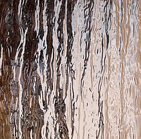 Скло візерункове рифленное Кора (Сильвит) бронзовий 4мм